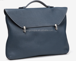 Navy envelop briefcase half flap trend style land bag