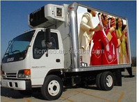 HOT Mobile outdoor truck led display, truck mobile video led advertising billboard