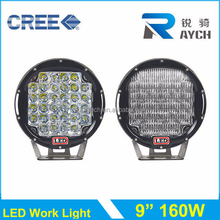 160W LED Work Light, Top CR EE LED Working Light, 12V Headlight spot/flood beam