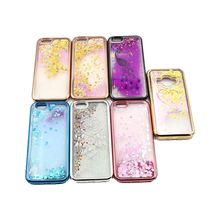 Colorful Fashion Cool Waterfall Glitter Case for Samsung Galaxy S4 Mini i9190