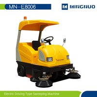 power broom Compact sweeper , ride on sweeper,cordless swivel cleaning road machines