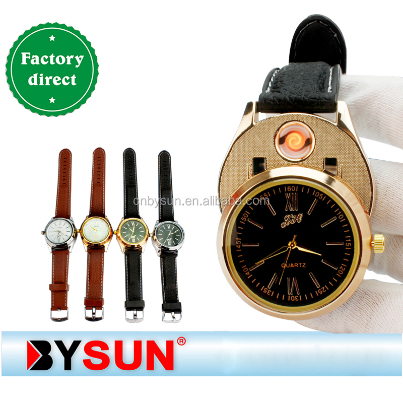 arc Promotional cigarette lighter/watch usb electric LighterBS-1294