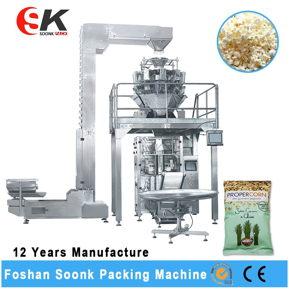 Soonke Vertical Retort Pouch Ice Candy Packing Machine