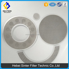 stainless steel rubber surrounded washer filter screen