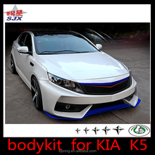 big Body kit for K5 pp plastic rear and front bumper FOR 2010 2011 2012 K IA OPTIMA K5 POLY URETHANE DS STYLE body kit
