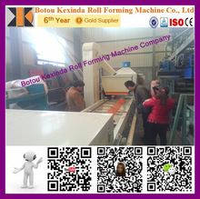stone coated steel roofing tile machine stone tile production line