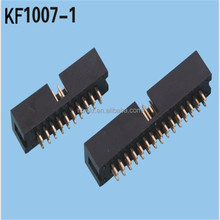 6pin--64pin pitch 2.54mm male idc socket connector