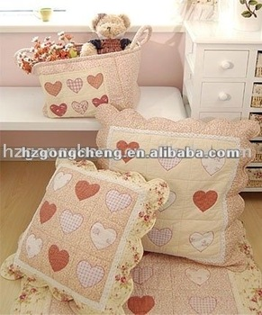 100% cotton printed cushion