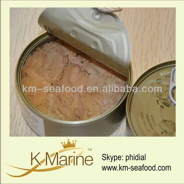 Canned tuna fish in China
