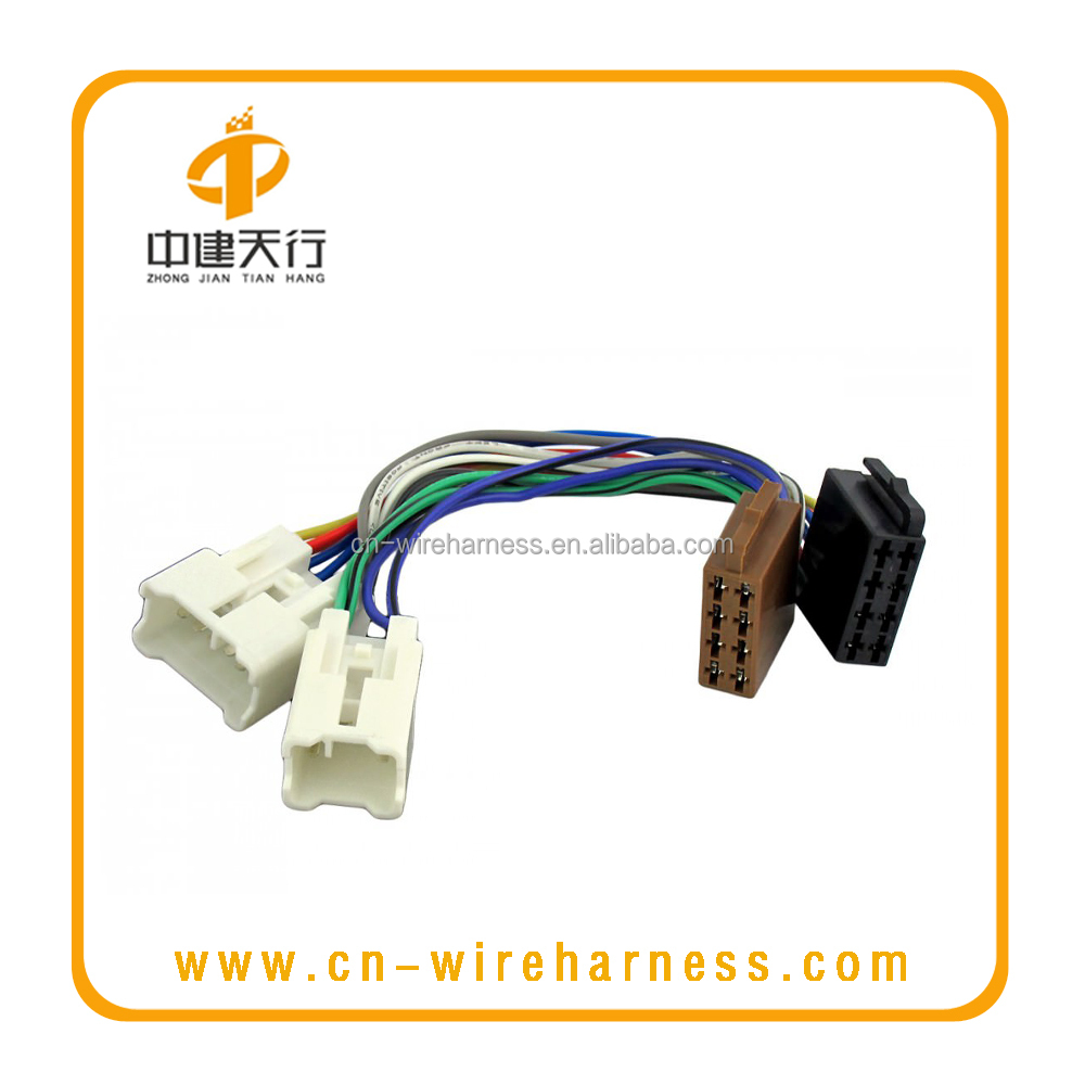 Factory Custom Toyota 1987 Automotive Wire Harness Buy Connector Wiring Cablestereo Harnesselectric Product On