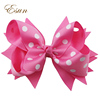 Boutique beautiful girls center knots butterfly hair bows