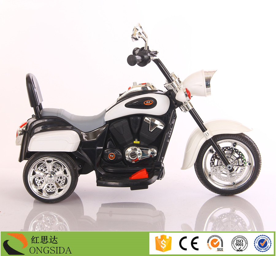 Battery power and plastic material kids electric motorcycle