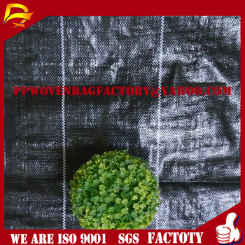 china Plastic Woven Geotextile Weed Mat