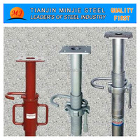 U-head adjustable steel scaffold shoring prop and fittings