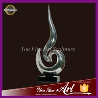 Modern abstract art stainless steel sculptures for sale