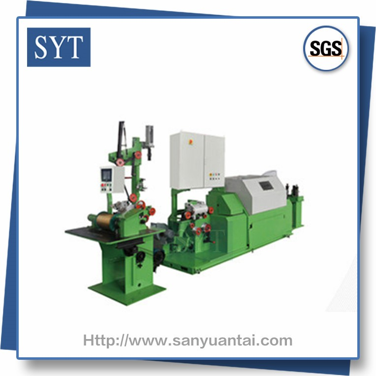 SYT-SDT12 High speed twisted stranding electric wire bunching machine