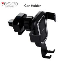 Yesido Best selling phone holder with clip+newest car mount+phone holer universal cell phone clip holder