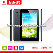 alibaba cheap PAD 3G Tablet PC Tablet PC 7 INCH