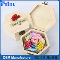 Valentine's Day gift box gift flower hand carved soap flower