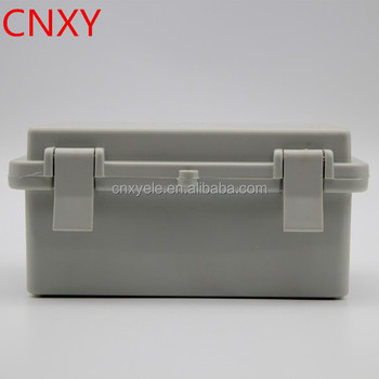 IP65 hinged lockable plastic electrical box