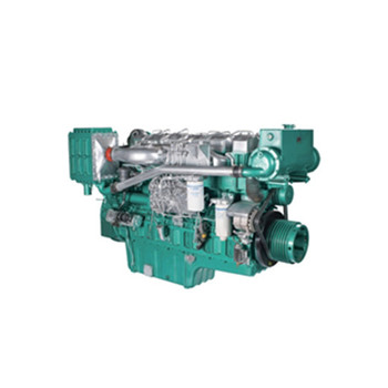 300HP water cooling YUCHAI YC6T300C marine engine