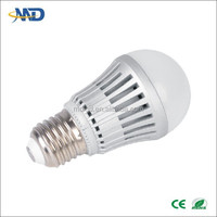 New product 5W LED ball bulb lamp E26 E27 E14 B22 bulb 90-260V or DC12V solar led flashing bouncing ball with multi-color light