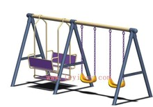 children two seat swing LY-108A