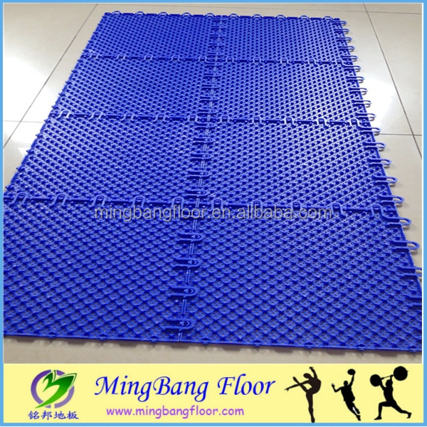Portable,clearable,waterproof,indoor&outdoor,multi-usage,pp interlocking flooring/playground