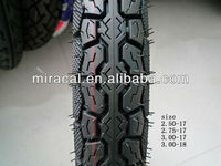 Rich Size Of Motorcycle Tyre/Size 2.75-17 Motorcycle Tubeless Tyre