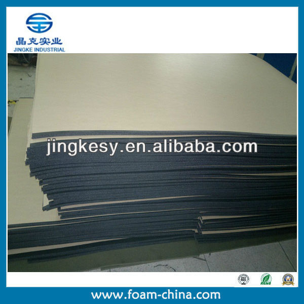 good performance best quality non toxic self adhesive cut foam