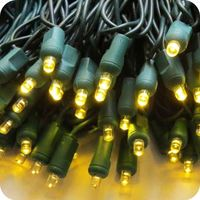 Commercial grade mini light strings outdoor led christmas lights