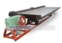 Mercury ore separator shaking table for sale