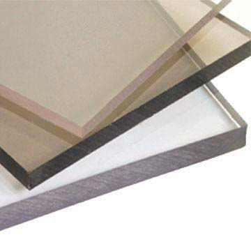 16mm hot sell polycarbonate soild sheet with one side UV--protected coating