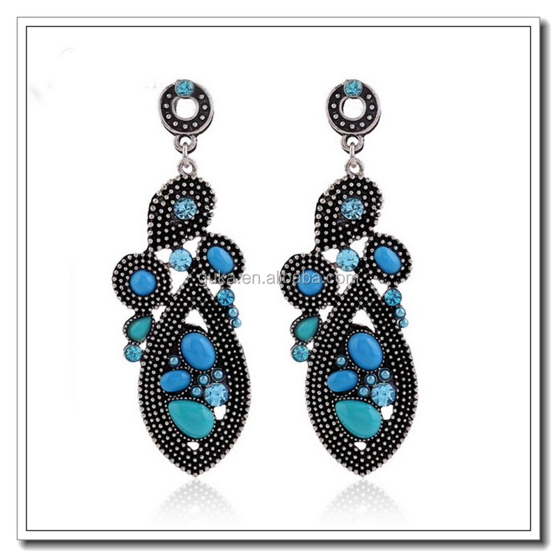 China Jewelry Wholesale Afro Girl Earrings