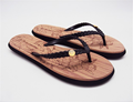 Flat cosy Ladies flip flops EVA sole material beach slipper