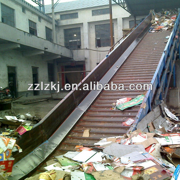 conveyor belt for recovered paper and pulp