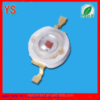 Epistar chip 3w 630nm led(100% waranty,ROHS CE,3 years waranty)