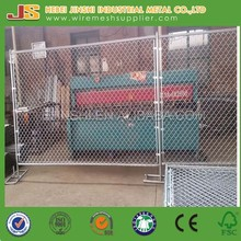6ft*10ft Hot Dip Galvanized Portable Chain Link Fence Temporary Fence panels