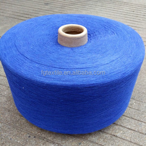 ne10's indigo yarn for woven denim fabric