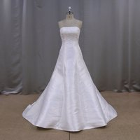 RJU006 heavy beaded lace pictures of beautiful wedding gowns