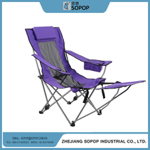 China New Design Popular Sling Chair Folding Deck Chair Canvas