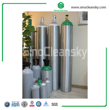 50L Empty Argon Helium Gas Aluminum Cylinder for Sale