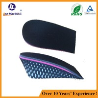 Unisex height increase insoles make you taller invisiable height increasing insoles half pad insoles