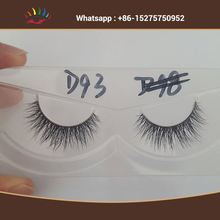 Own Brand Natural 3D Private Label Mink Eyelashes Natural And Dramatic Look