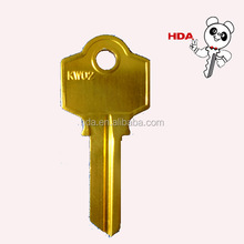 KW02 Color Aluminum blank key