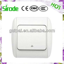 European Style CE Certificate Wall Call Bell Switch For Home