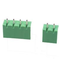 wire connector 5.08mm pitch pcb screw terminal block 2 pin type