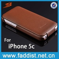 Faddist Flip Leather Cover for iphon 5c New Arrival