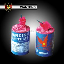 dancing butterfly small fountain fireworks for kids