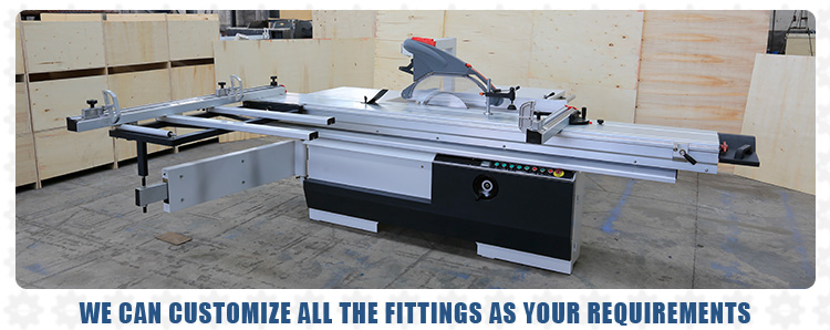 Timber Cutting Machine saw table 3200mm saw blade 90 Degrees Precision Sliding Table Saw for Furniture Making